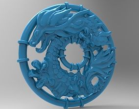 3D printable model Dragon pendants