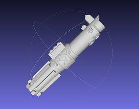 Star Wars Episode IX Rey Lightsaber Printable Model
