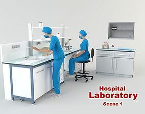 Hospital Laboratory - Scene 1 3D model