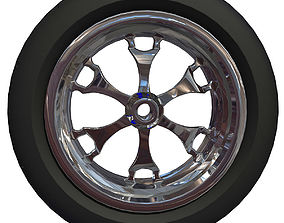 3D Detailed Motorcycle Tire