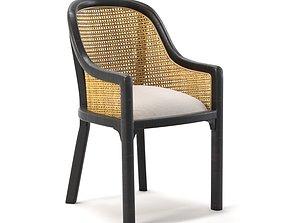 3D model Noir Gaston Chair