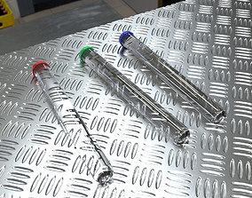 science Test Tube 3D model