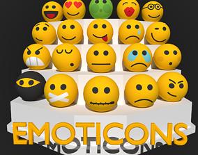 3D model Emoticons
