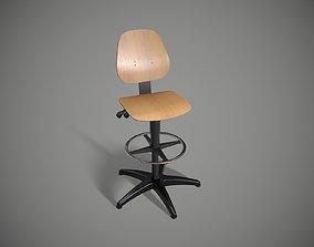 3D asset realtime art Office Chair