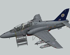 3D model animated Hawk T1