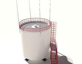 barrel Oil Barrel 3D model