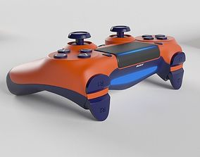 Sony PlayStation 4 DualShock Controller Sunset Orange 3D
