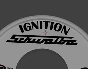 3D print model Simson Schwalbe Ignition Cover