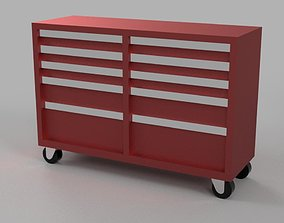 Tool Cabinet - Car Garage scale 1-43 - Diorama Garage - 2