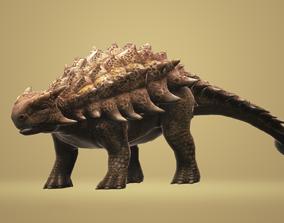 3D asset Ankylosaurus with Animation
