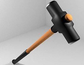 Civil Tool - Sledge Hammer 3D model