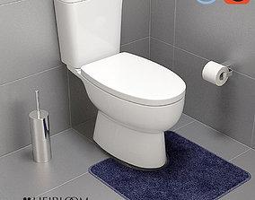 Centro Close Coupled Toilet 3D