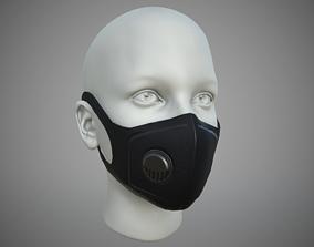 3D asset Medical Face Mask