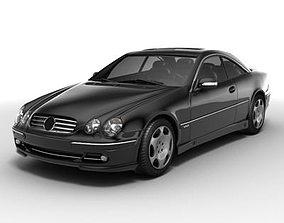 3D Mercedes-Benz CL600