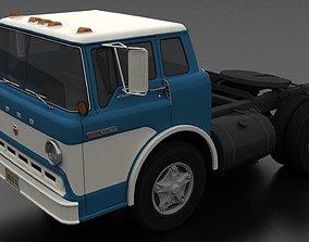 3D asset C-800 Semi Truck 1970