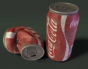 Coca Cola Can 3D asset VR / AR ready