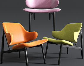 3D model Kardiel Larsen Modern Lounge Chair