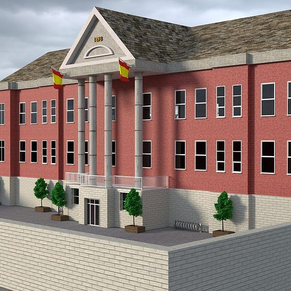 Spanish School Building