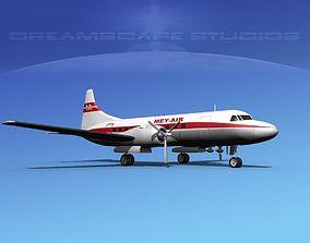 Convair CV-340 Mey- Air 3D