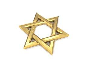 3D asset Star of David