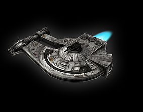 The Outrider 3D asset