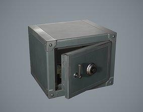 3D asset Safebox locker mini Game-ready