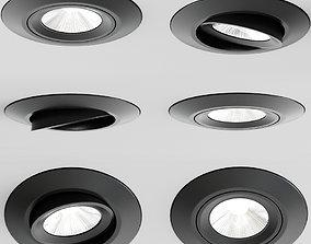 3D Casing Led Spotlight
