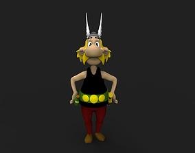 3D print model Asterix