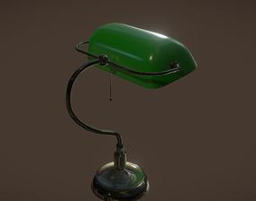 Bankers Lamp 3D