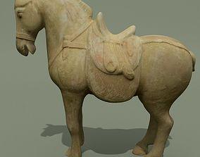 Horse Statuette J 3D