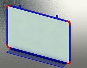 3D model Whiteboard