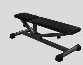 Training Bench 3D asset
