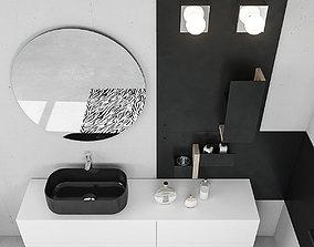 Bathroom furniture set Arcom Magnetica 2 3D model
