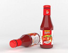 Ketchup Bottle ketchup 3D