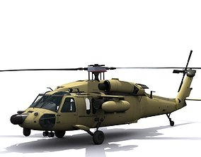 3D model Army Blackhawk