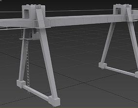 Bridge Type Crane 3D model