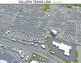 Killeen Texas USA 25km 3D model