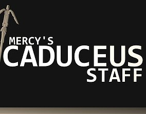 Caduceus Staff 3D