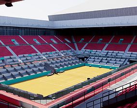 Caja Magica - Madrid Tennis court 3D model