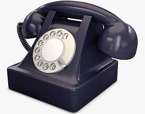 Retro Telephone v 1 3D
