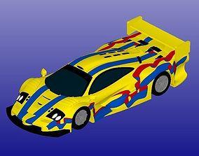 McLaren F1 GTR Longtail 3D print model