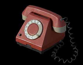 talk Old Phone 3D asset realtime