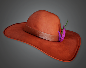 3D model Designer Hat Womens - HAT - PBR Game Ready