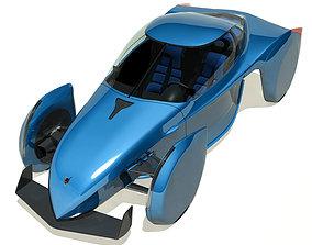 3D 2013 Shrike GT Concept Sports EV