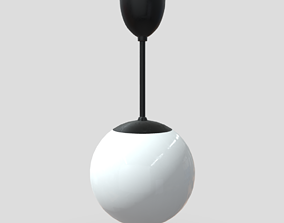 Ceiling Lamp 3D asset low-poly