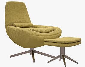 3D asset Metropolitan Chair BANDB ITALIA