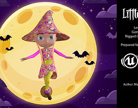 Little witch IV 3D model