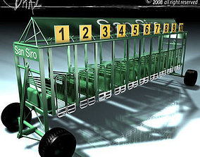 Horses start cages 3D