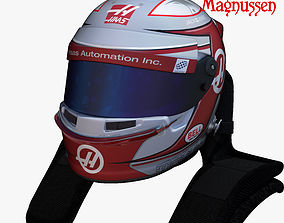 Magnussen helmet 2017 3D asset