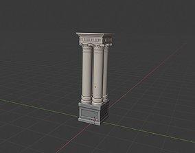 column classic 4x 3D asset